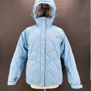 The North Face 600 Goose Down Light Blue Puffer L